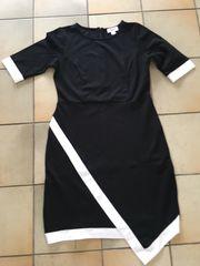 Schwarz weißes Kleid von Rick
