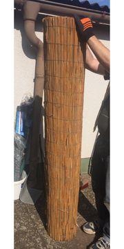 Bambus Sichtschutzzaun
