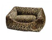 Hundebett Leopard NEUWERTIG