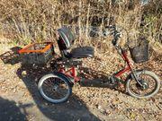 Dreirad mit Elektro Motor Partmobil