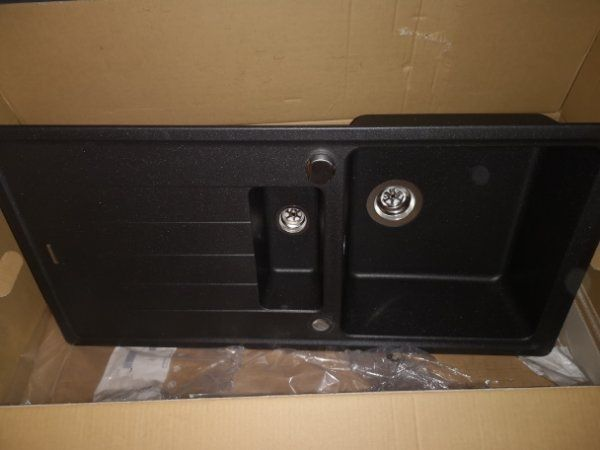 Schock Granitspule 150x50 Farbe Onyx In Schonfliess Spulen