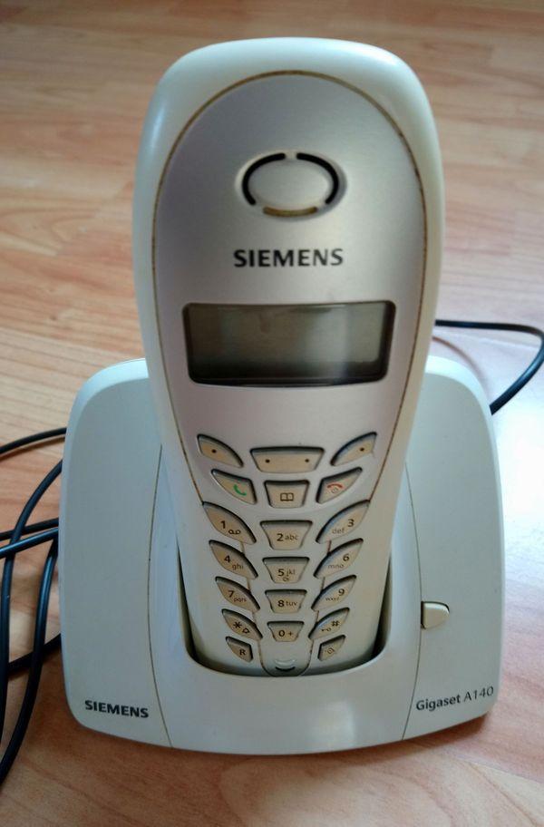 Siemens Gigaset A140 weiß schnurlos