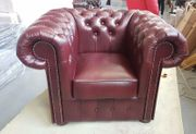 Chesterfield Klassik Sessel
