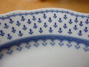 Hutschenreuther Kaffeeservice blaues Muster - Maria