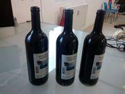 Präparierte Flaschen für