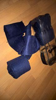 Bandagen Showmaster dunkelblau Elastikbandage mit
