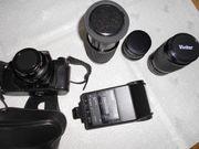 Spiegelreflexkamera mit 3