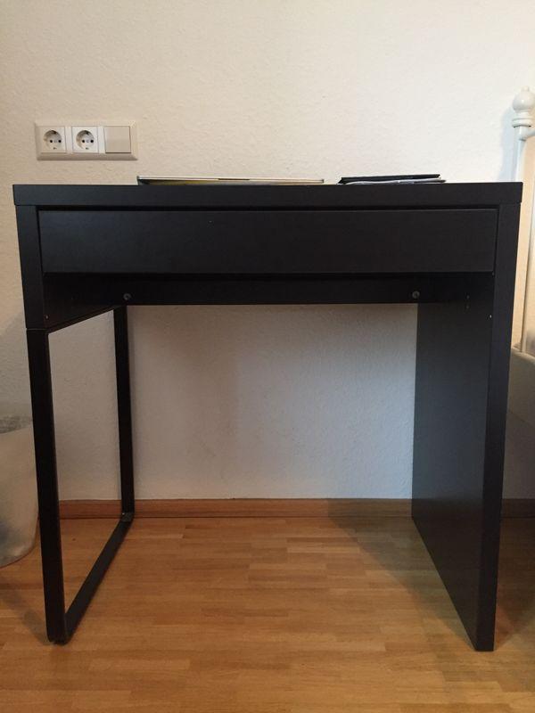 Ikea schreibtisch schwarzbraun  MICKIE Schreibtisch schwarzbraun in Stuttgart - IKEA-Möbel kaufen ...