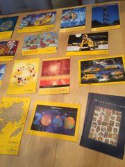 Sammlung Weihnachtsbriefmarken mit
