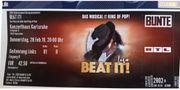 Ticket Musical BEAT IT Das