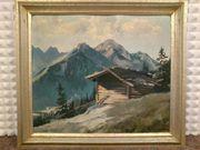 Karl Stephan 1923 Original Öl-