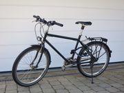 Fahrrad T400 Fahrradmanufaktur schwarz