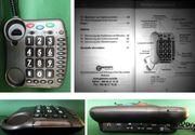 Modernes Groß-Tasten-Telefon Clearsound AmliPOWER 40