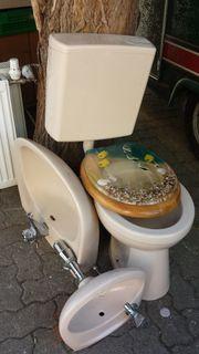 Standtoilette WC mit