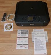 CANON Pixma MG5650 Multifunktionsdrucker schwarz