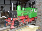 Gartenbahn Lokomotive Dampfmaschine Echtdampfmodell 5