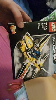 lego technick flugzeug
