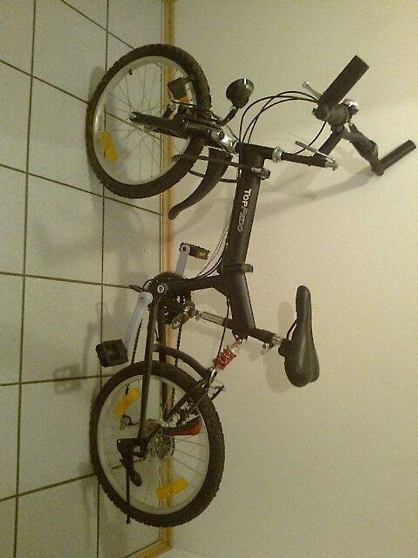Klappfahrrad - Rimbach - Fahrrad, zusammenklappbar, paßt in den Kofferraum - Rimbach