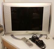 Fernseher und PC-Monitor zu gleich