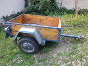 PKW Anhänger DDR Holzaufbau Eigenbau