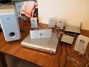 DVD Player mit Surroundsystem