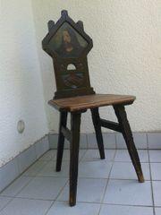 Stuhl rustikal, antik,