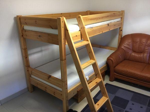 Etagenbett Leiter : Etagenbett mit leiter und matratzen in hockenheim betten