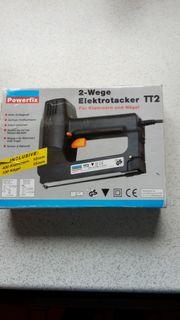 2 - Wege Elektrotacker