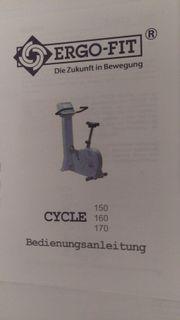 Fahrradergometer ERGO - FIT