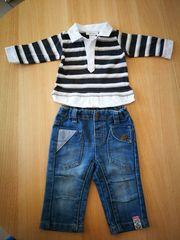 Polo Shirt und Jeans - Größe