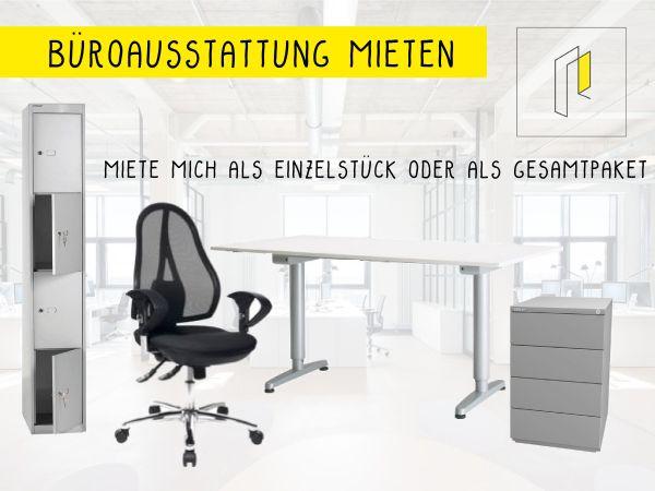Vermietung Büromöbel / Büroausstattung *Einzeln oder als Paket* in ...
