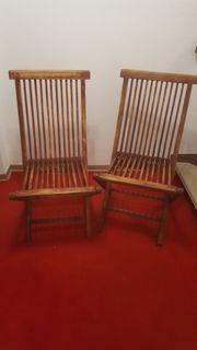Teak-Stühle