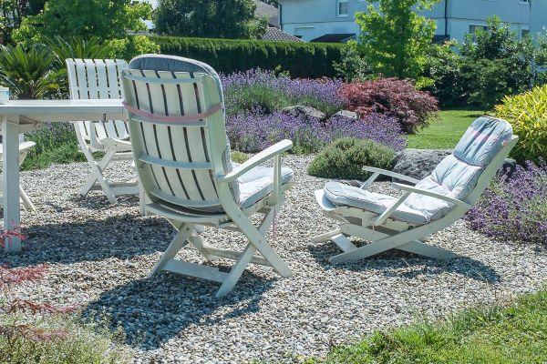 Gartengarnitur Grosfillex Tisch 4 Stühle in Höchst - Gartenmöbel ...