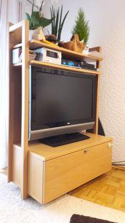 Hülsta TV-Rack Buche drehbar
