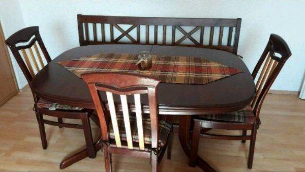 Esstisch Mit Bank Und Stühlen In Merzig Speisezimmer Essecken