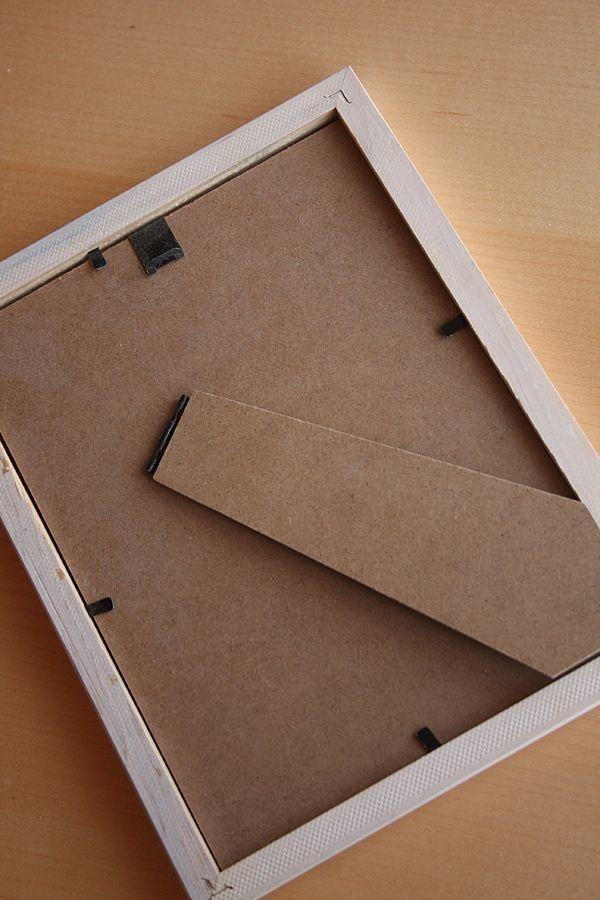 Bilderrahmen, weisser Rahmen, 18 x 23 cm in Murnau - Dekoartikel ...