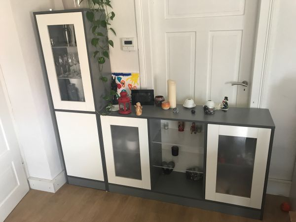 Vitrine Und Sideboard In Heidelberg Wohnzimmerschranke Anbauwande