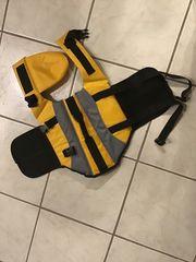 Hundeschwimmweste Rettungsweste gelb gr M