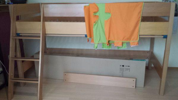 paidi hochbett rutsche gebraucht kaufen nur 2 st bis 60 g nstiger. Black Bedroom Furniture Sets. Home Design Ideas