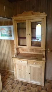 Küchenschrank aus Weichholz