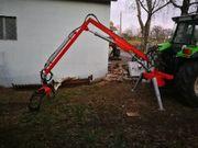 Forstkran Rückekran Holzkran Teleskop