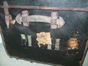 Großer Überseekoffer Jahrhundertwende 19 Jah