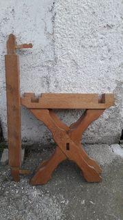 Tischuntergestell Holz Tischbein Tisch Untergestell