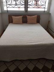 Bett aus Teakholz 160X200cm 2