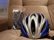 Cratoni Tremor Fahrradhelm gebraucht Blaumetallic