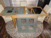 Esszimmertisch Esszimmerstühle Hochflorteppich Schnäppchenpreis