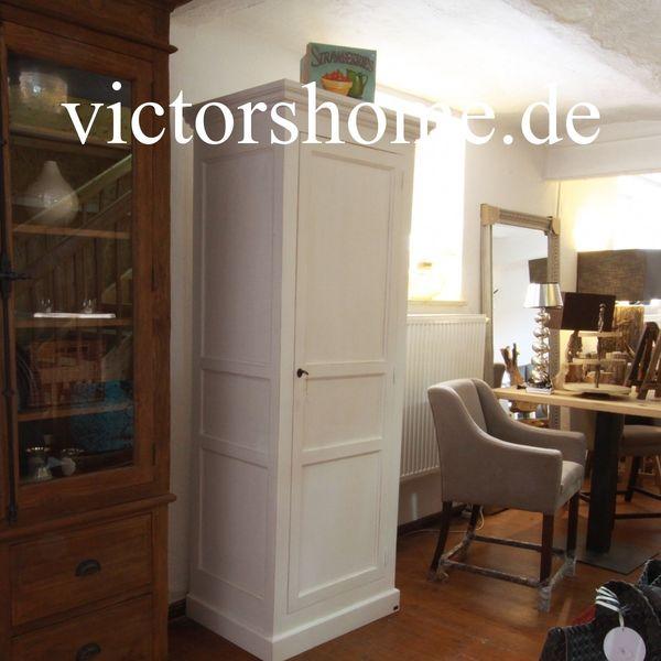 Weisser Schrank Garderobenschrank Kleiderschrank Wäscheschrank 84 In