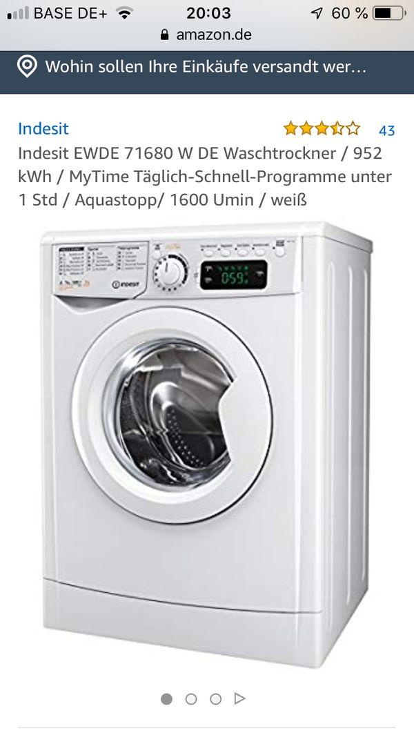Indesit Waschmaschine günstig gebraucht kaufen - Indesit ...