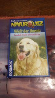 Natur Quiz Welt der Hunde