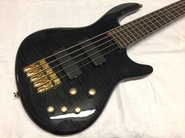 E-Bass Dean Edge Pro 5 NEU mit Garantie Trans Black in Netphen ...